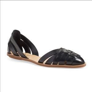 Vince Camuto black flat sandal